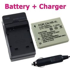Insten® NB-4L Compatible Li-Ion Battery + Battery Charger For Canon PowerShot SD780 IS / PowerShot SD940 IS / PowerShot SD1400 IS Digital Camera - For Sale Check more at http://shipperscentral.com/wp/product/insten-nb-4l-compatible-li-ion-battery-battery-charger-for-canon-powershot-sd780-is-powershot-sd940-is-powershot-sd1400-is-digital-camera-for-sale/