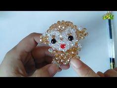 How to bead animal acceceroy:Teddy Bear - YouTube