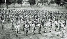 1940-1942 Young Australians training -Chermside