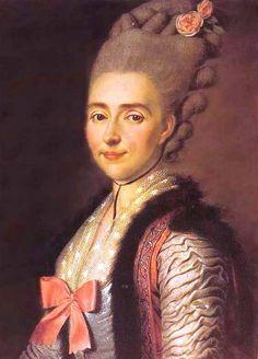 Портрет Мельгуновой Екатерины Александровны 1777 г.