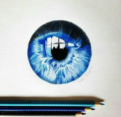 You do things… Cool Eye Drawings, Really Cool Drawings, Realistic Drawings, Colorful Drawings, Art Drawings, Art Painting Gallery, Sketch Painting, Aquarell Tattoos, Eyes Artwork