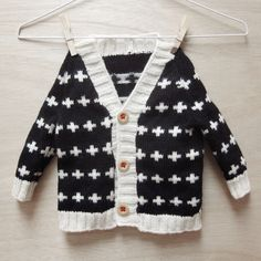 cute baby cardigan hand knitted