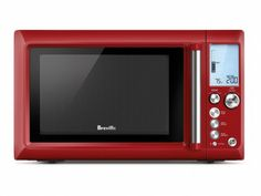 Cool red microwave