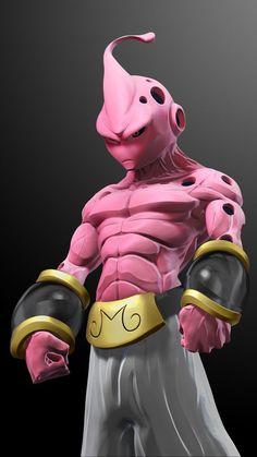 majin buu in Dragon Ball Z, Dragon Z, Manga Anime, Fanarts Anime, Character Concept, Character Art, Character Design, Majin Boo Kid, Dragonball Anime