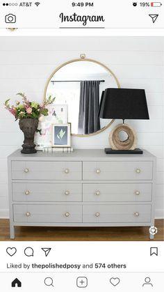 Spare bedroom dresser