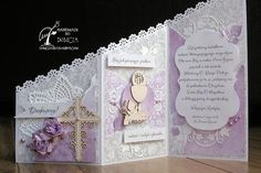 Scrap & Craft: purple Holly Communion