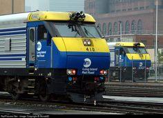 RailPictures.Net Photo: LIRR 4710 & 517 Long Island Railroad EMD DE30AC at Queens, New York by RonaldD