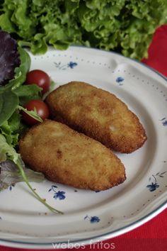 Pechugas Villaroy   webos fritos