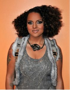 Famous Black African American Female Singers with Natural Hair: Marsha Ambrosius