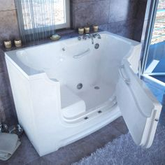 We love this wheelchair accessible, tub! #NMEDA Wish wish wish for Kenny!