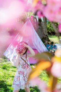 Juliette - Cerisier du japon - séance photo vintage - esneux - petite snorkys photography