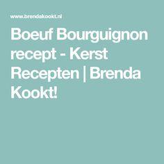 Boeuf Bourguignon recept - Kerst Recepten | Brenda Kookt!