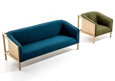 Benjamin Hubert exposes timber frames in collection for Moroso