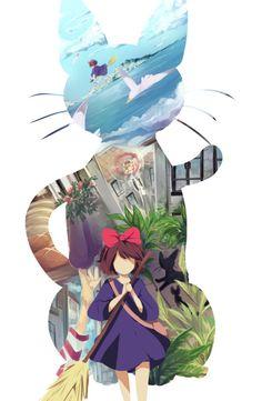 Kiki's Delivery Service. -- Studio Ghibli movies, Japanese films, characters, scenes