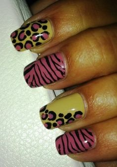 Animal print - Nail Art Gallery by NAILS Magazine #nailart