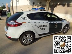 Coche Policia Guardia Civil Española - Spain Police Car of Guardia Civil