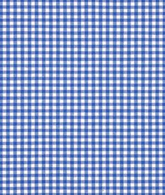 "Robert Kaufman 1/8"" Royal Blue Carolina Gingham Fabric - $7.15 