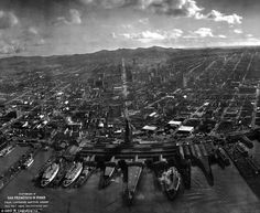 A city in ruins: Stunning photo taken from kite that captures devastation from 1906 earthquake in San Francisco