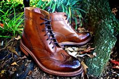 Strivers Row & Co. Wing Tip Brogue and Cap Toe Boot - SLAMXHYPE