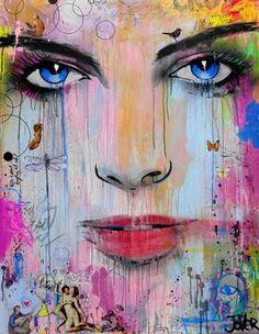 "Saatchi Art Artist Loui Jover; Painting, ""all or none"" #art"