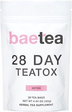 Baetea 28 Day Teatox: Gentle Detox Tea. Reduce Bloating and Constipati – Detox Spot