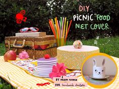 DIY Picnic Food Covers - very cute idea!