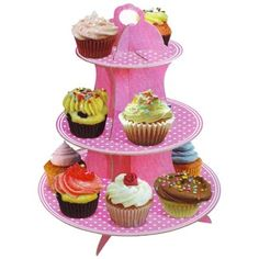 Cupcake Étagère Roze