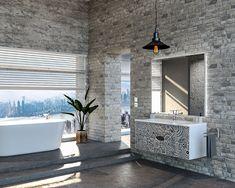 Unique Design Bathtub, Mirror, Bathroom, Luxury, Unique, Frame, Furniture, Design, Home Decor