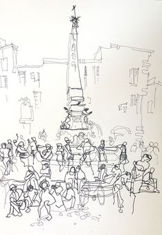 cold weather urban sketching: tips from the pros | urban sketchers