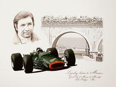Pedro Rodrigues - GP Monaco 1967