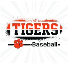 Team Shirts, Baseball Shirts, Tigers Baseball, Football, School Shirts, Shirt Ideas, Cutting Files, Silhouettes, Tanks