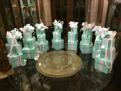 Hey, I found this really awesome Etsy listing at https://www.etsy.com/listing/251781123/tiffany-and-co-themed-centerpieces