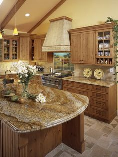 Perfectly Modern Country Kitchen Decorating Style