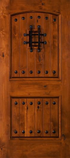 stain color            Your home is one of your greatest assets and this knotty alder wood door with keep it looking great for the future. Description from thedoorkings.com. I searched for this on bing.com/images