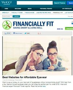 "Our Wall of Fame ☺ | BonLook - best 5 websites  ""Best websites for affordable eyewear"""