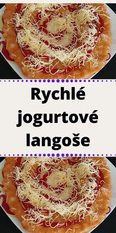 Rychlé jogurtové langoše Bon Appetit, Ricotta, A Table, Food And Drink