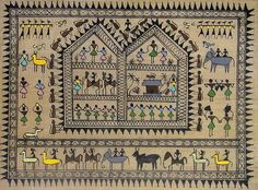 The hidden messages inside the Warli paintings enchant one and all [Monkeys]