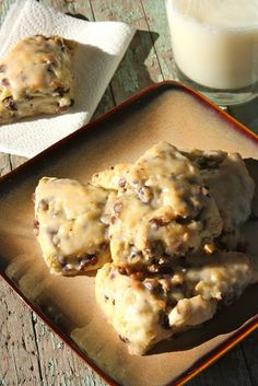 Chocolate Chip Scones {recipe}. These look delicious!
