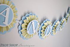 Birthday Banner, Special Occasion, name banner, nursery decor, photo prop, High chair banner