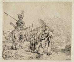 Mijn favoriete Rembrandt in Teylers Museum: Doop van de kamerling (B98)