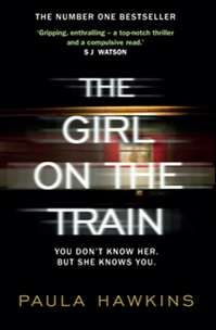 "The Girl on the Train by Paula Hawkins at Easons: The international sensation was the latest ""amnesia thriller"" to captivate readers and has continually dominated Ireland's bestseller chart since its publication in January."