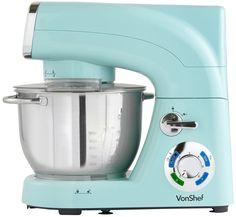 Kitchen Large Stand Mixer Pistachio 6 Speed Pulse Function Dough Hook 5.5 LTr NE