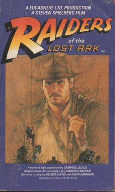 raiders of the lost ark  paper back