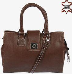Luxus-Handtasche aus echtem Büffel Leder - Sommer Sale für 229 €