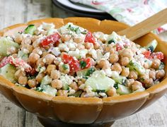 Feta and Chickpea Salad   Babble