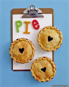 Mini Berry Pies - Martha Stewart Recipes