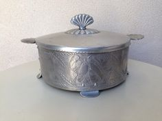 A personal favorite from my Etsy shop https://www.etsy.com/listing/99849373/vintage-casserole-holder-forged-crown