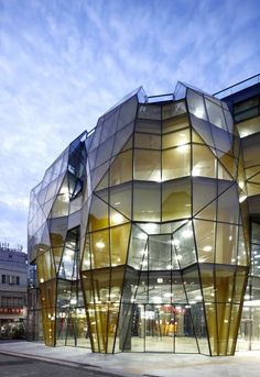 The Yellow Diamond, Seoul, South Korea by Jun Mitsui & Associates Architects + Unsangdong Architects
