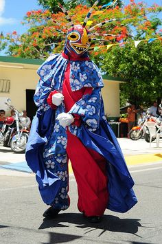 Vejigante at the Fiesta de Santiago Apóstol (Saint James Festival) - Loiza, Puerto Rico
