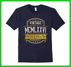 Mens Vintage 1976 T-Shirt 41 years old B-day 41st Birthday Gift XL Navy - Birthday shirts (*Amazon Partner-Link)